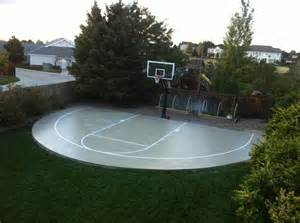 how much does a backyard basketball court cost backyard basketball court installation cost home outdoor