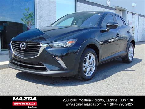 mazda car deals 2016 used 2016 mazda cx 3 gs deal pending for sale in montreal