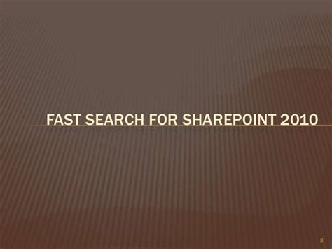 Fast Search Fast Search For Point