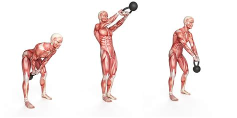kettlebell swing muscles watchfit 3 ways to perform kettlebell swings for fat loss