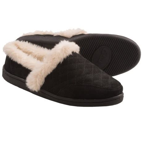 clarks womens slippers clarks quilted suede slippers for save 65