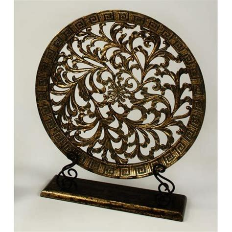 decorative plate with stand artmax decorative objects