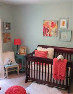 molly s blue and coral nursery project nursery