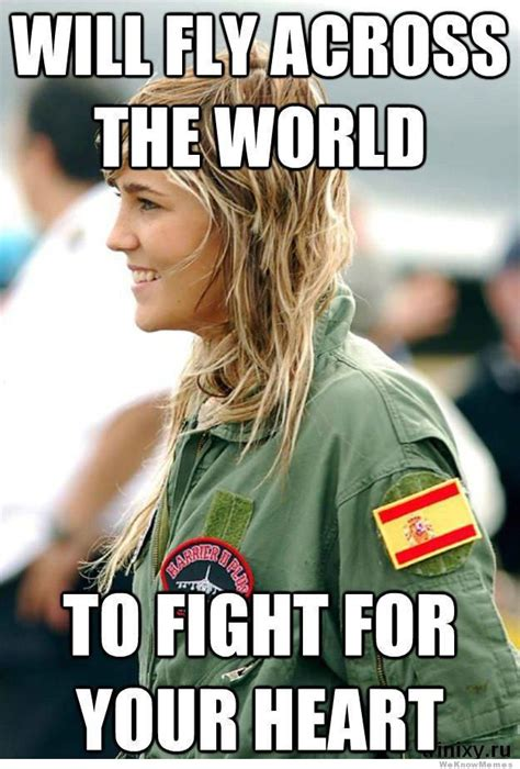 Female Meme - ridiculously photogenic female fighter pilot meme
