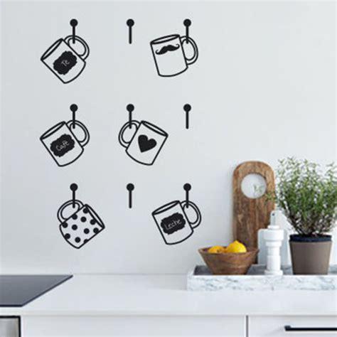 papel de vinilo para cocinas tazas en vinilo divertido adorno para la cocina 171 vinilos