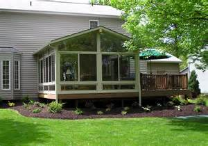 deck with sunroom 4 season sunroom with deck the change up