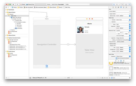 xcode table layout the ultimate guide to ios storyboards in xcode ui