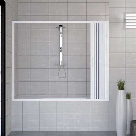 pare baignoire plastique pare baignoire cabine paroi pliante plastique pvc
