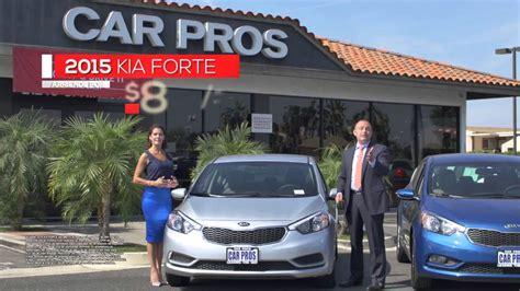 Kia Carpros Car Pros Kia Carson Forte En Espanol