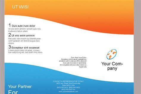 3 page brochure template tri fold brochure template e commercewordpress