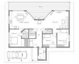 Small Modern Floor Plans by Affordable Home Plans Affordable Modern House Plan Ch61
