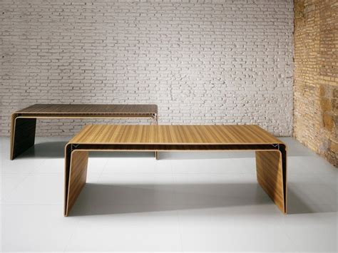 minimalist table minimalist desk in two thin layers of wood design mumbai