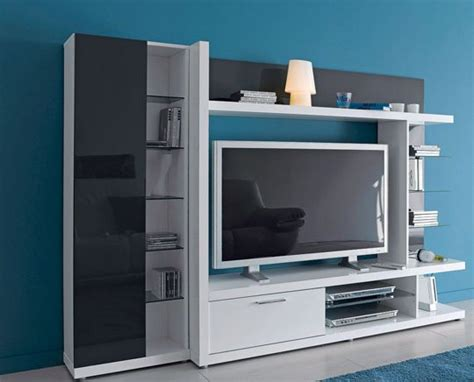 Rideaux Salon 1087 by Meuble De T 233 L 233 Vision Avec De Multiples Rangements 20