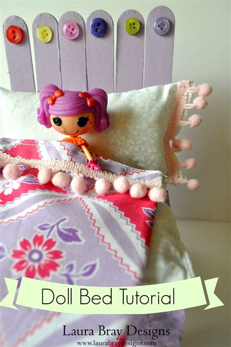 doll diy diy doll bed with sticky sticks k bray designs