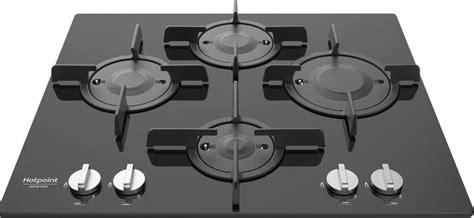 piano cottura cristallo nero piano cottura hotpoint ariston gas 4 fuochi 60 cm ftghg