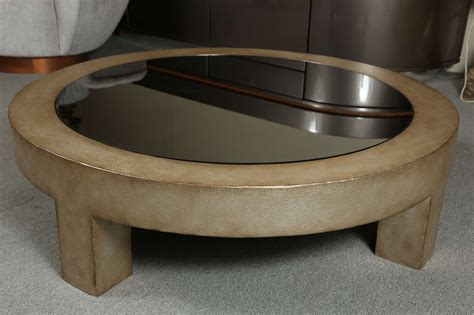 beautiful wood and glass coffee table by mont at 1stdibs