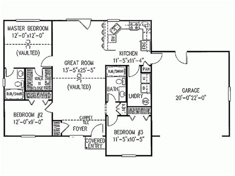 simple ranch floor plans eplans ranch house plan simple statement 1200 square