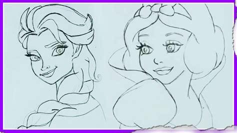 how to make doodle tutorial disney princes sketch how to draw disney