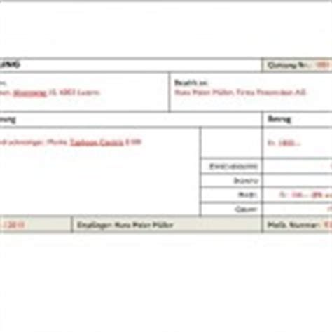 Quittungsvorlage Schweiz Privatbereich Muster Und Vorlagen Kostenlos Seite 3