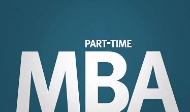 Get Your Mba Part Time by Executive Mba Or E Mba One Year In Abu Dhabi Dubai India