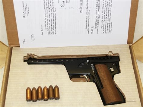 Mba Gyrojet Pistol For Sale by Mba Gyrojet 12mm Plus Ammunition For Sale