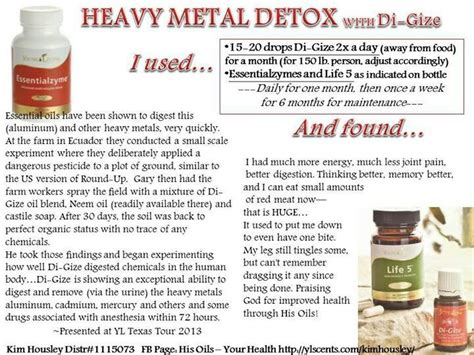 Detox Heavy Metals by Pin By Debbie Wallace Goff On Living Essential Oils