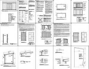 free 8 x 16 shed plans construct your own shed by means
