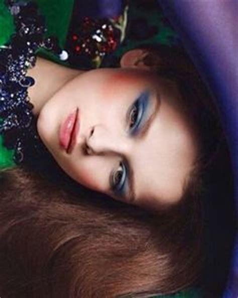 Eyeshadow Glitter Inez 1000 images about makeup inspiration on editorial vogue china and vogue japan