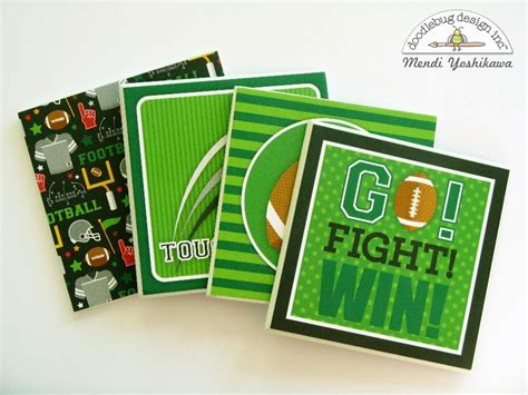 doodlebug gifts doodlebug design inc touchdown collection coaster
