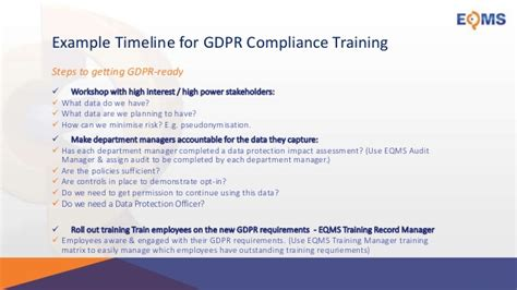 Preparing For Gdpr General Data Protection Regulation Stakeholder Gdpr Employee Privacy Notice Template