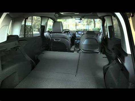 ford b max interni nuova ford b max i sedili reclinabili