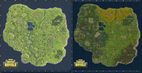 fortnite and poland fortnite map vs new map where is the underground