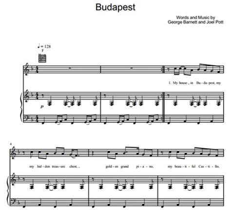 budapest by george ezra guitar chords lyrics guitar budapest george ezra sheet music purple market area