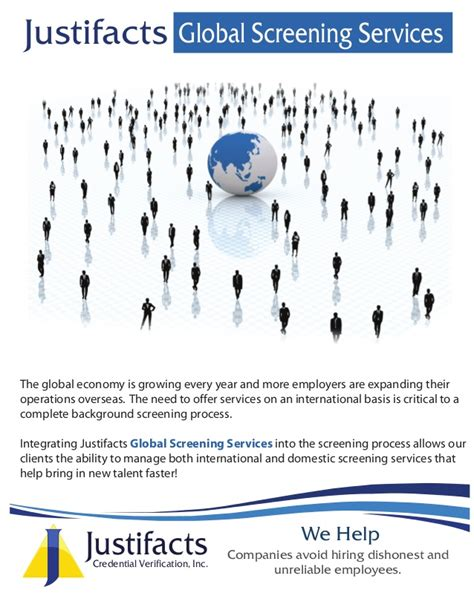 Justifacts Background Check International Background Check Services