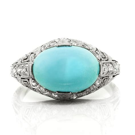 turquoise and ring anyone claude morady estate