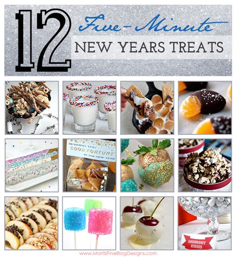 how to make new year treats 12 5 minute new years treats food
