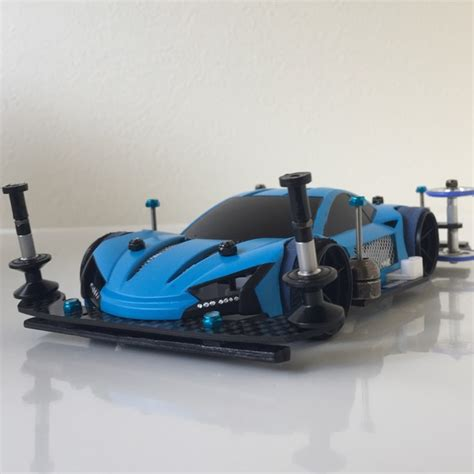 Blue Mini4wd ライキリ light blue owned by boow m4g ミニ四駆ギャラリー
