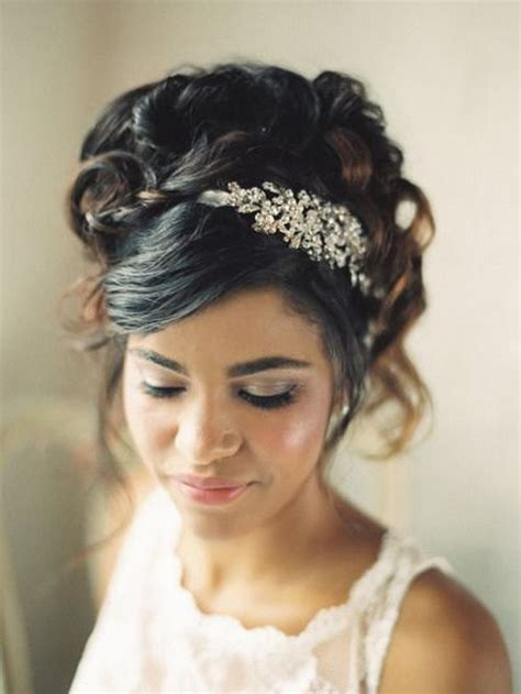 Wedding Hairstyles With Across Bangs by 50 Superb Black Wedding Hairstyles