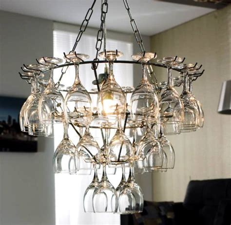Diy Wine Glass Chandelier 25 Best Ideas About Wine Glass Rack On Pinterest Glass Rack Wine Glass Holder And Glass Holders