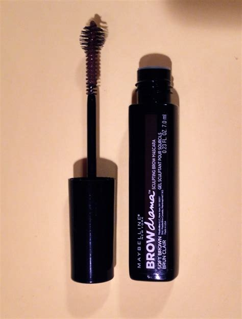 Review Dan Mascara Maybelline review b a comparison photos swatches maybelline brow drama sculpting brow mascara great