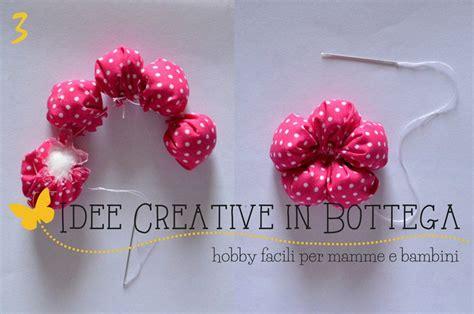 come fare fiori in stoffa tutorial fiori stoffa imbottiti idee creative in bottega