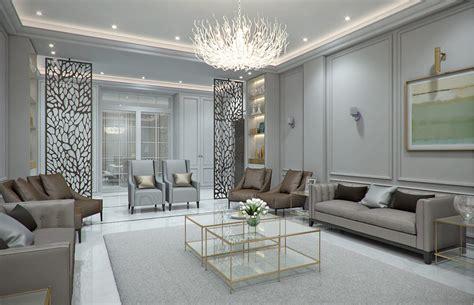 modern classic villa interior design riyadh saudi
