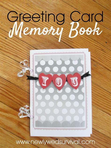 easy way to make memory cards template how to create an easy greeting card memory book