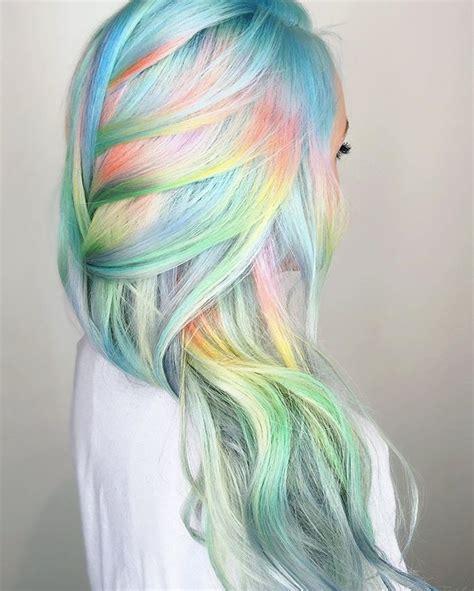 unicorn hair color 1000 ideen zu unicorn hair auf