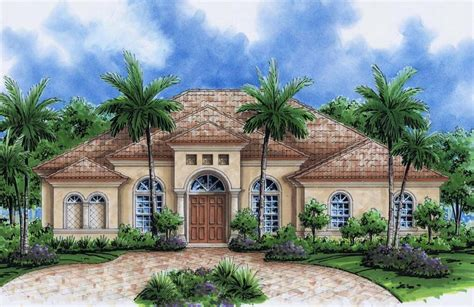 florida mediterranean homes new home plans florida find house plans