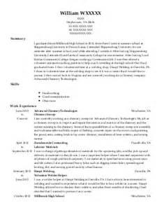 Tig Welder Sle Resume by Stick Welder Resume Sales Welder Lewesmr