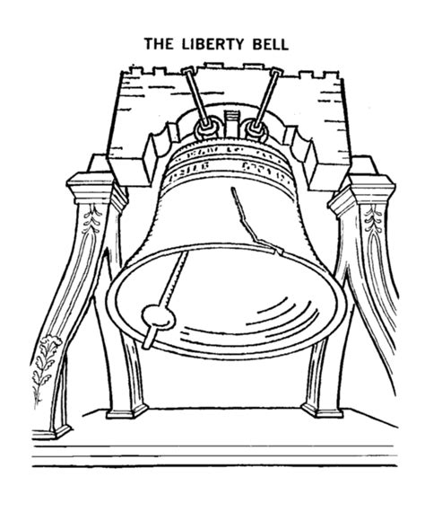 coloring pages of united states symbols usa printables the liberty bell coloring pages american