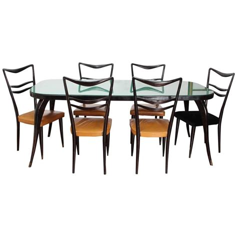 1950s dining room furniture beautiful italian dining room set in the style of paolo buffa from the 1950s at 1stdibs