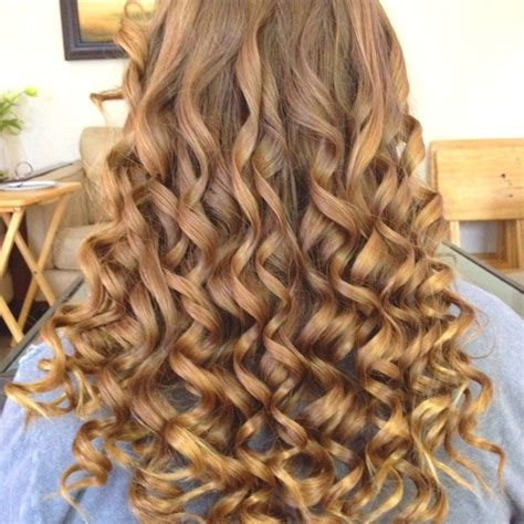Nice Hairstyles With The Wand | curly hair by wand curler hair pinterest hair