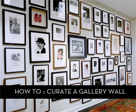 how to design a gallery wall how to curate a gallery wall 187 curbly diy design decor
